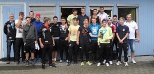 Die U19 des SV Gottenheim beim Trainingslager in Bodnegg