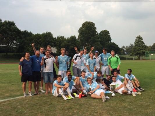 Der Gewinner des Allgäupokal 2015: der FV Waldburg